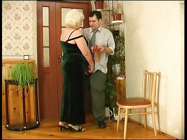 Wife catches her man fucking her mom-7535