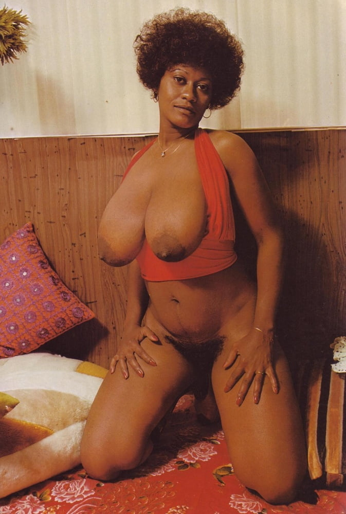 Retro ebony erotica