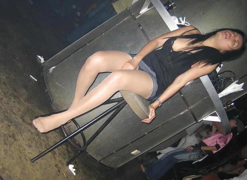 Pantyhose Candid