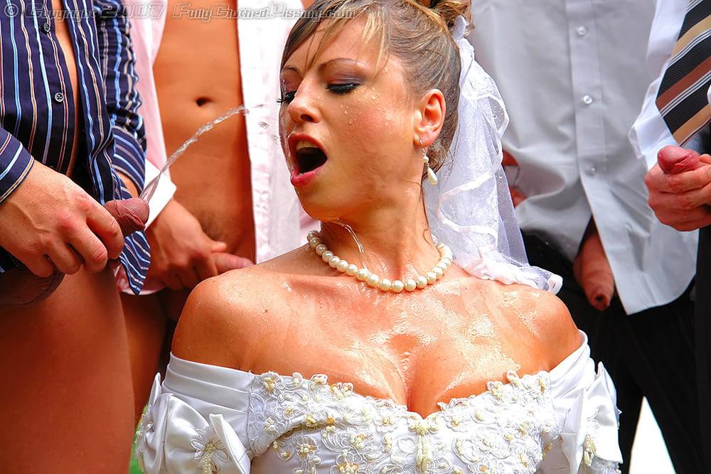 В невесту кончают много мужчин #12