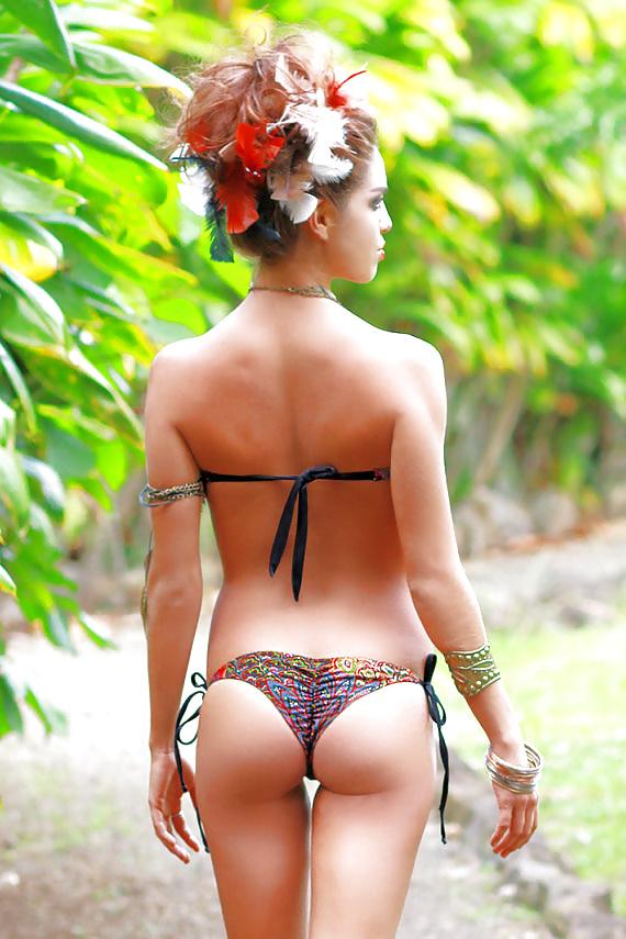 Girls Underwire Bikini Velvet High Cut Swimsuit Cheeky Butt Adult Women Bathing Suits Sexy Young