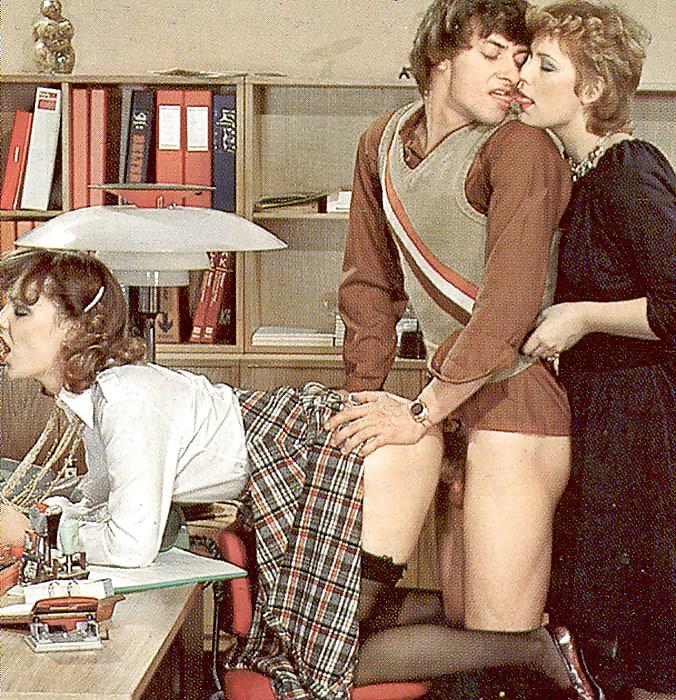Vintage office sex 12