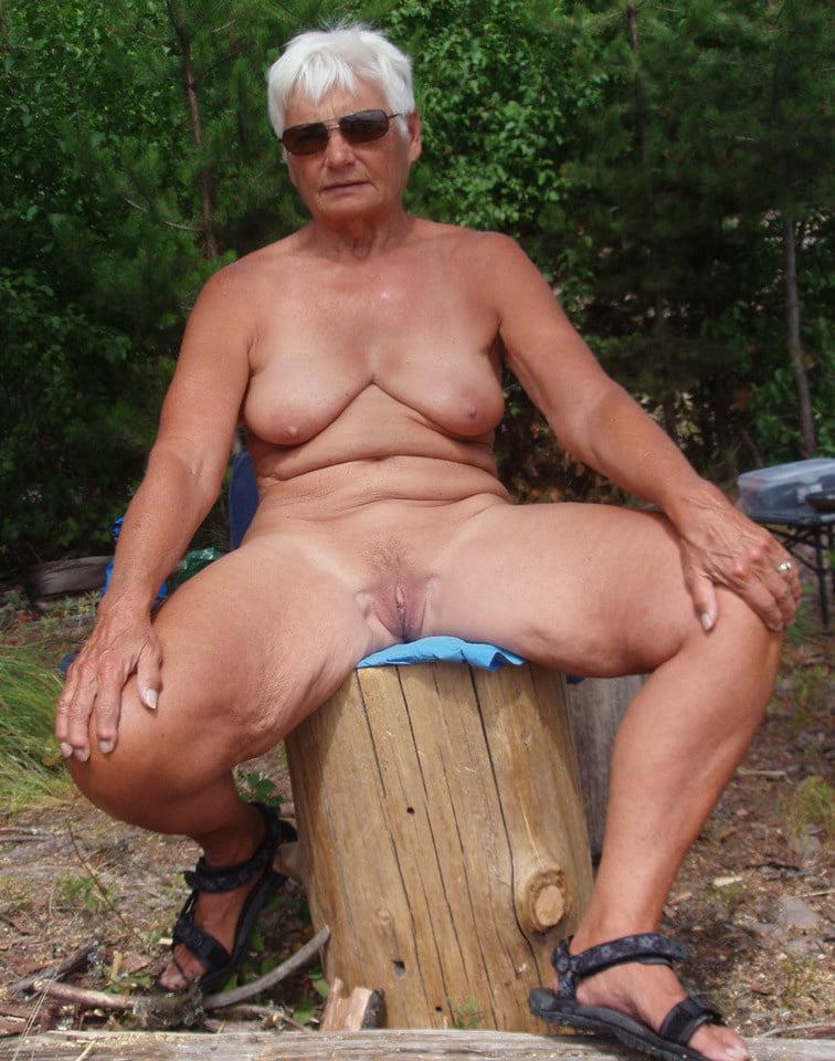 Sexy Granny Free Photo