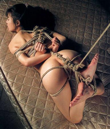 Extreme asian bondage