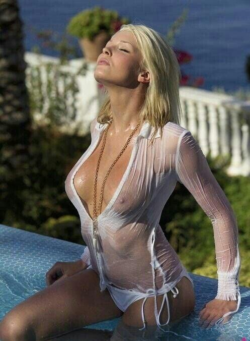 contest shirt Erotic wet