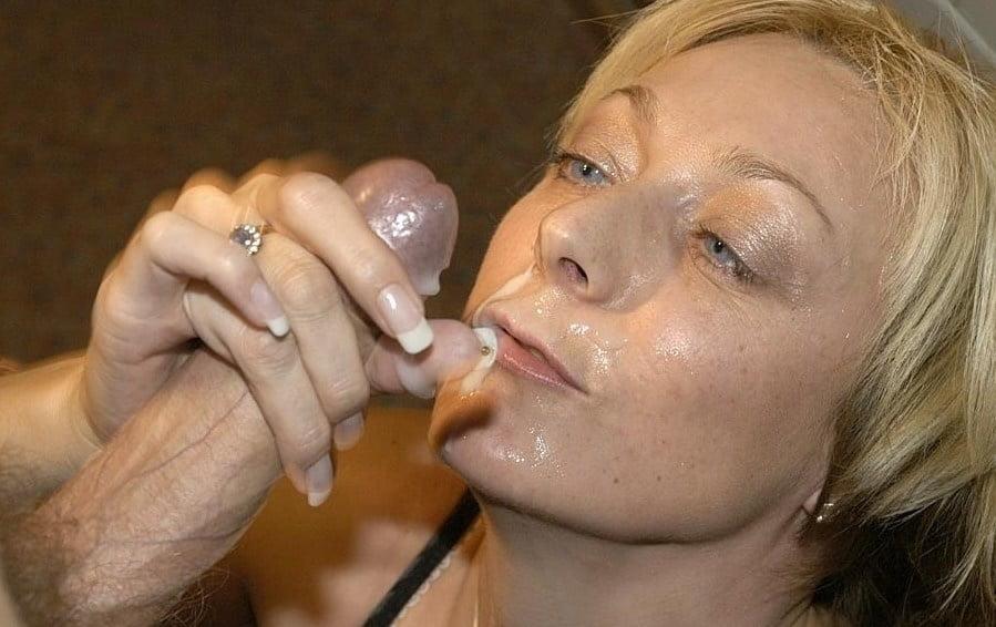 сперма в рот зрелой фото - 8