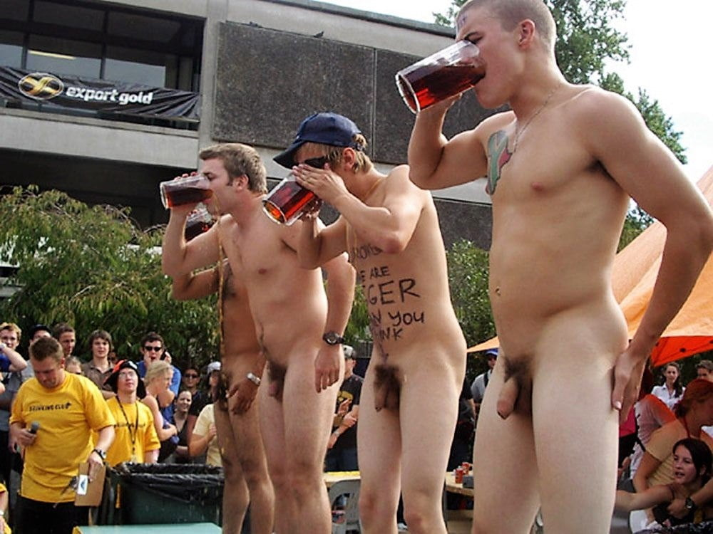 Group Naked Males With Hard Ons