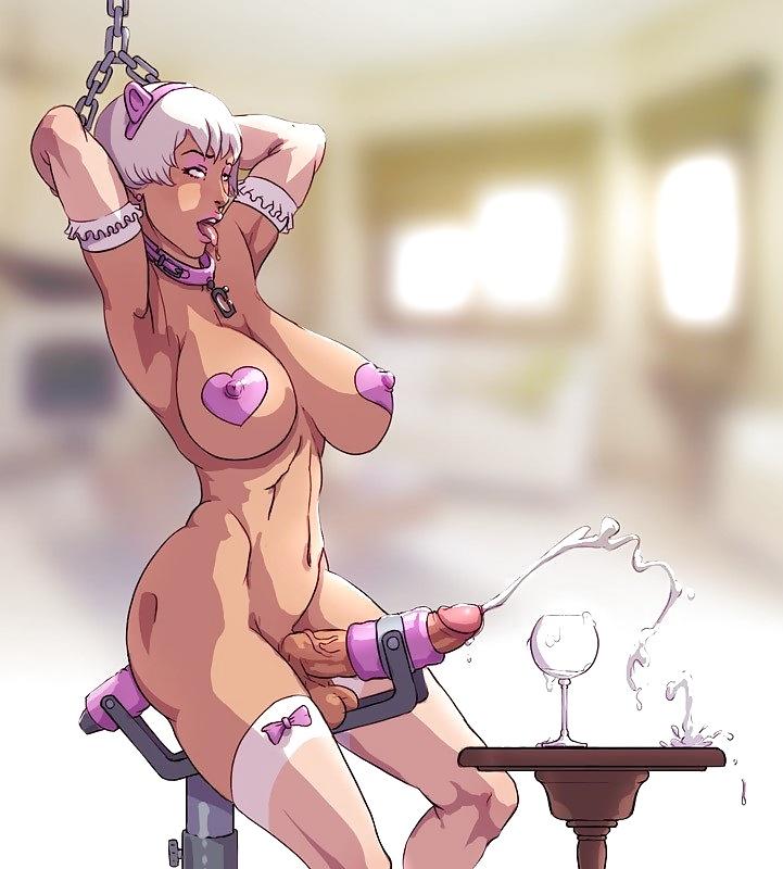 get pics milked futa hot