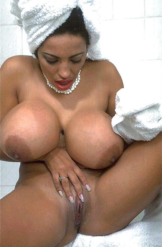Massively Big Boob Latina Porn Pic