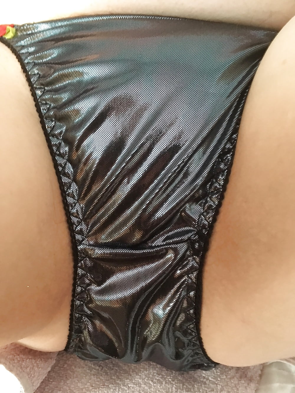 And sexy shiny panties kellys