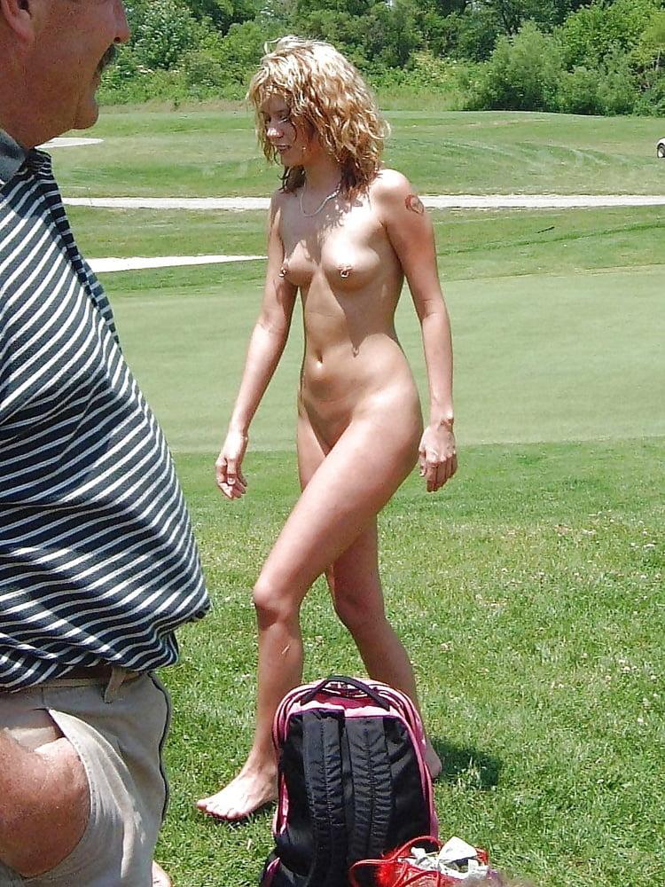 Naked girls pizza