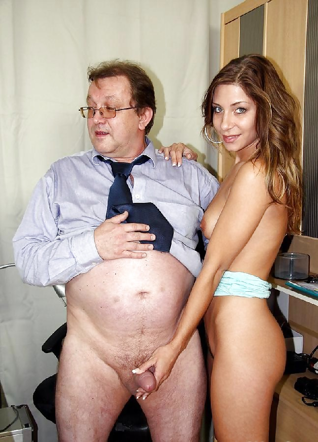 Naked daughter with dad