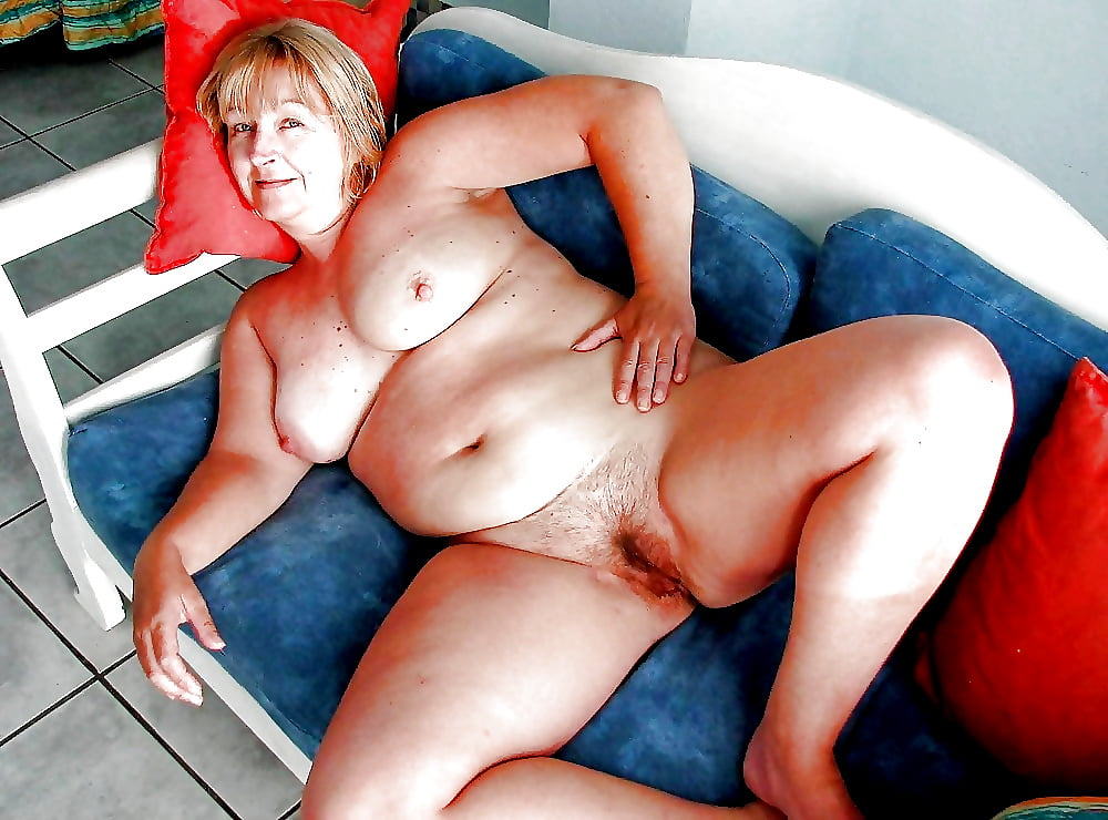 Plump Granny Sex With