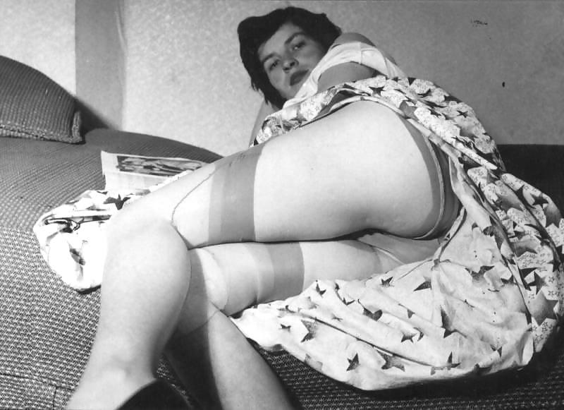 Ретро порно фильм дамское белье