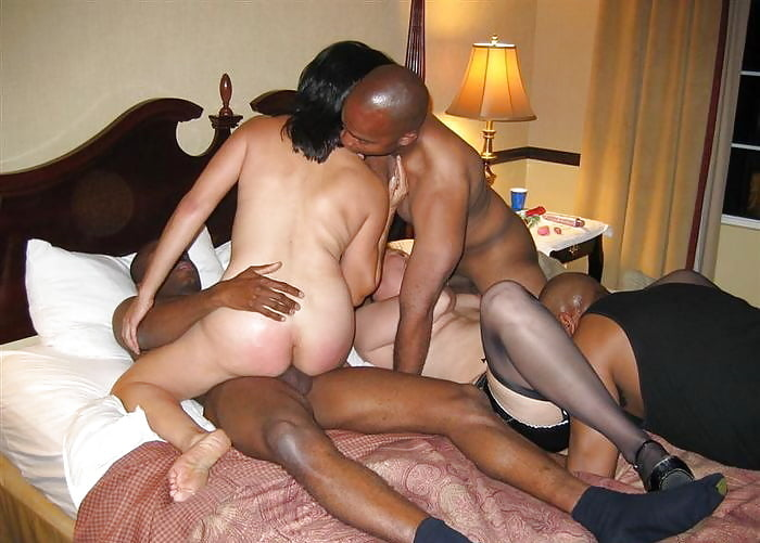 Домашнее любительское порно белый с женами черные люди