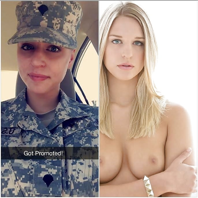 Female army girls naked — pic 8