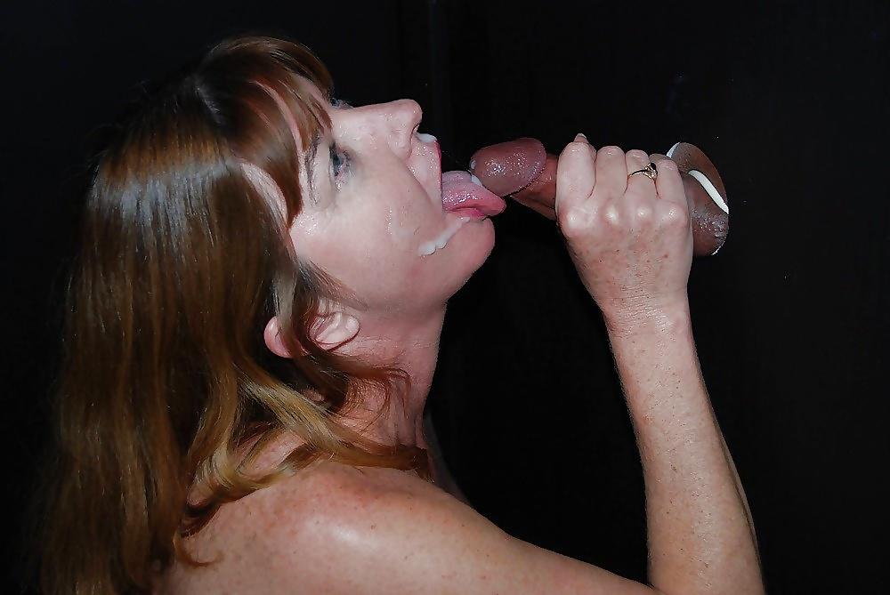 Big boobs adult theater gangbang milf on glory hole