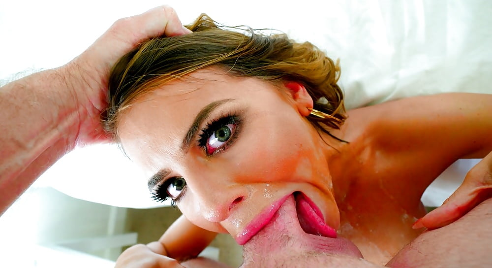 Deepthroat hard sex and anal play
