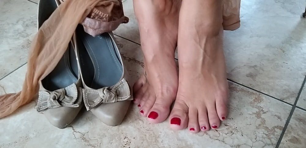 Heels und Halterlose- 8 Pics
