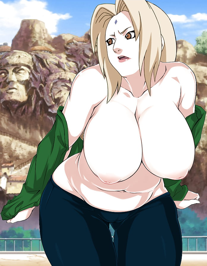 Tsunade sexy hot big bouncing boobs #14