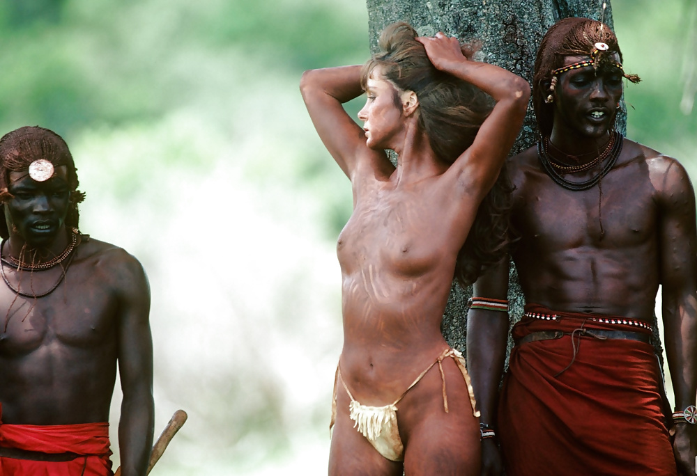 Black Nude Tribe Girl