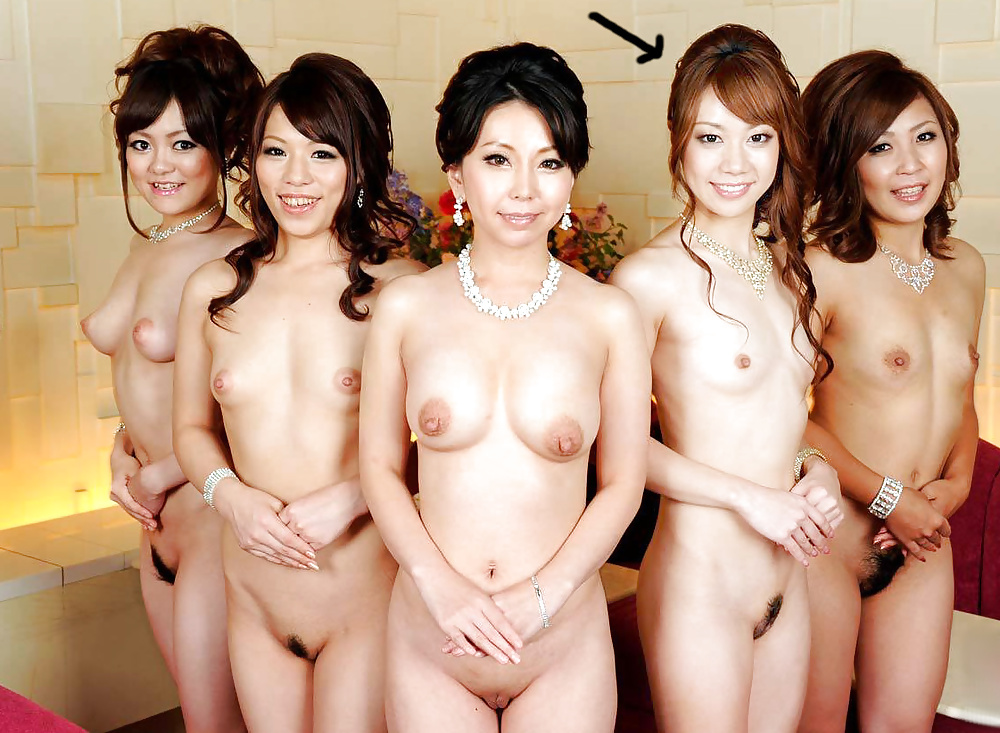 Group of nude korean girls