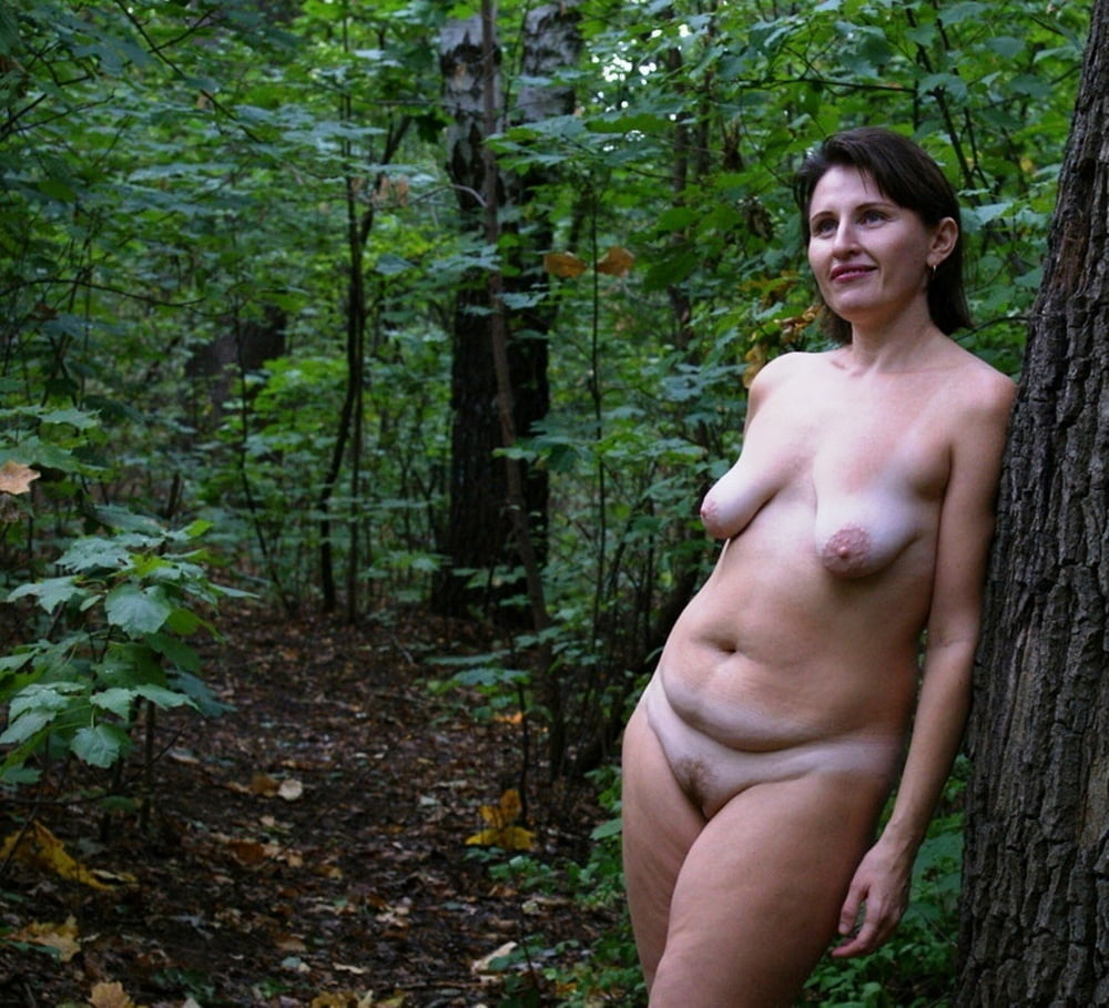 Hot Mom Naked Outside
