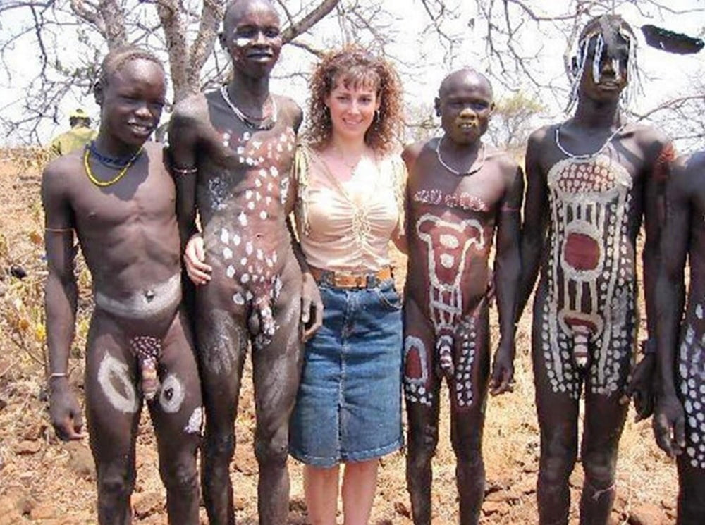 Africa naked women men #7