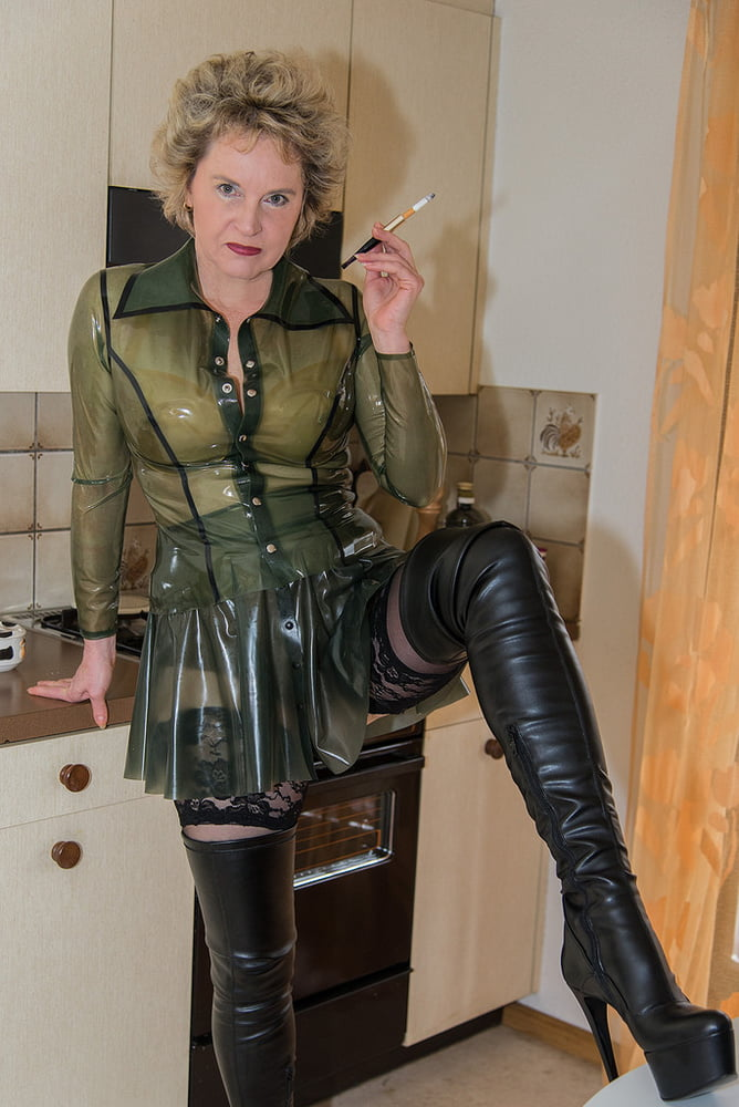 How Old Is Too Old To Wear A Leather Miniskirt