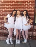 Lauren cute teen and her friends