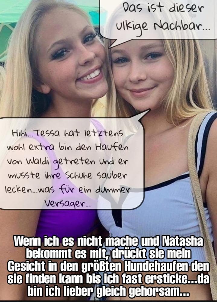 Femdom captions german Part 118 - 10 Pics