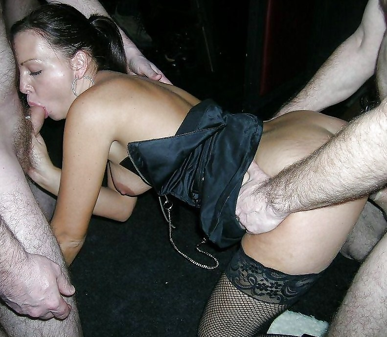 Milf fucked at a party