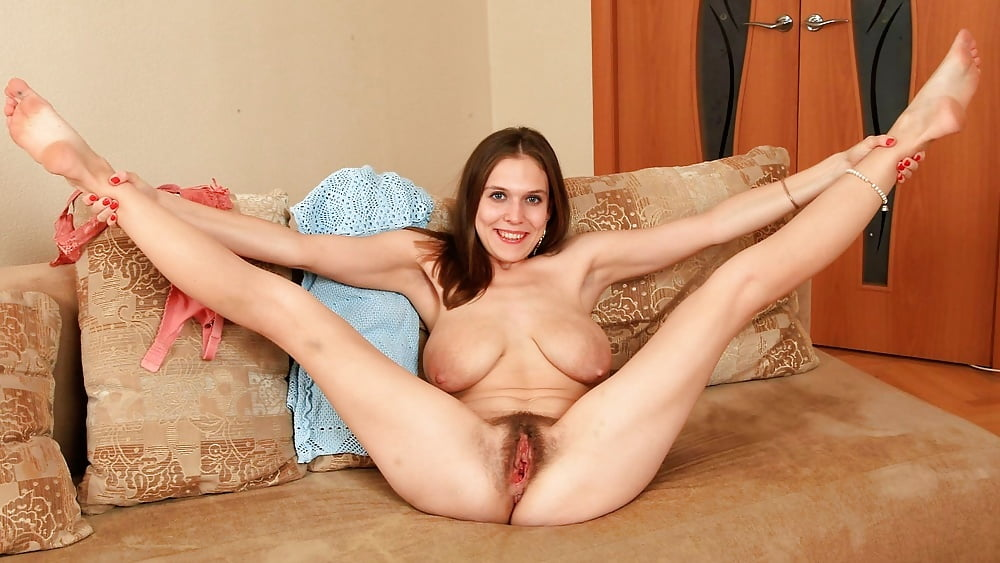 Legs spread wide nude women #7