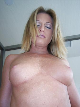hot blonde milf