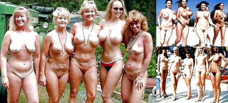 Women naked in groups