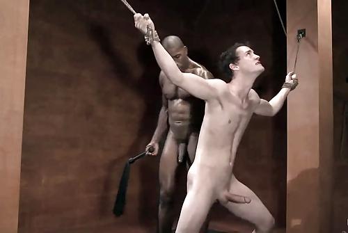 bdsm Black master white slave