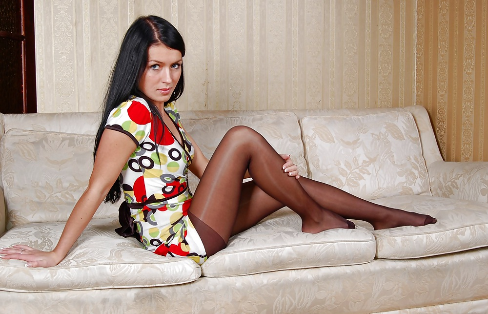 Porn image Amateur Woman shows Pantyhosefeet