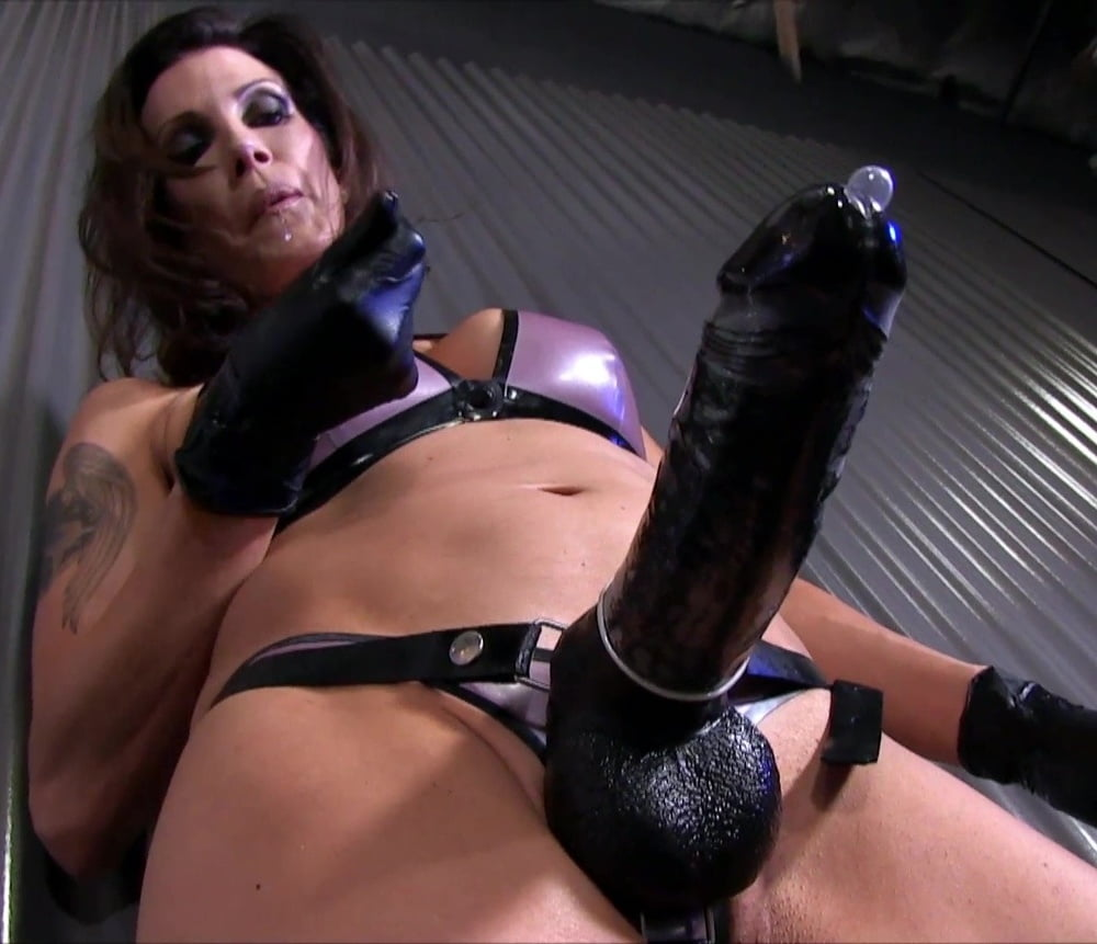 Friend's wife pegging his ass strapon femdom