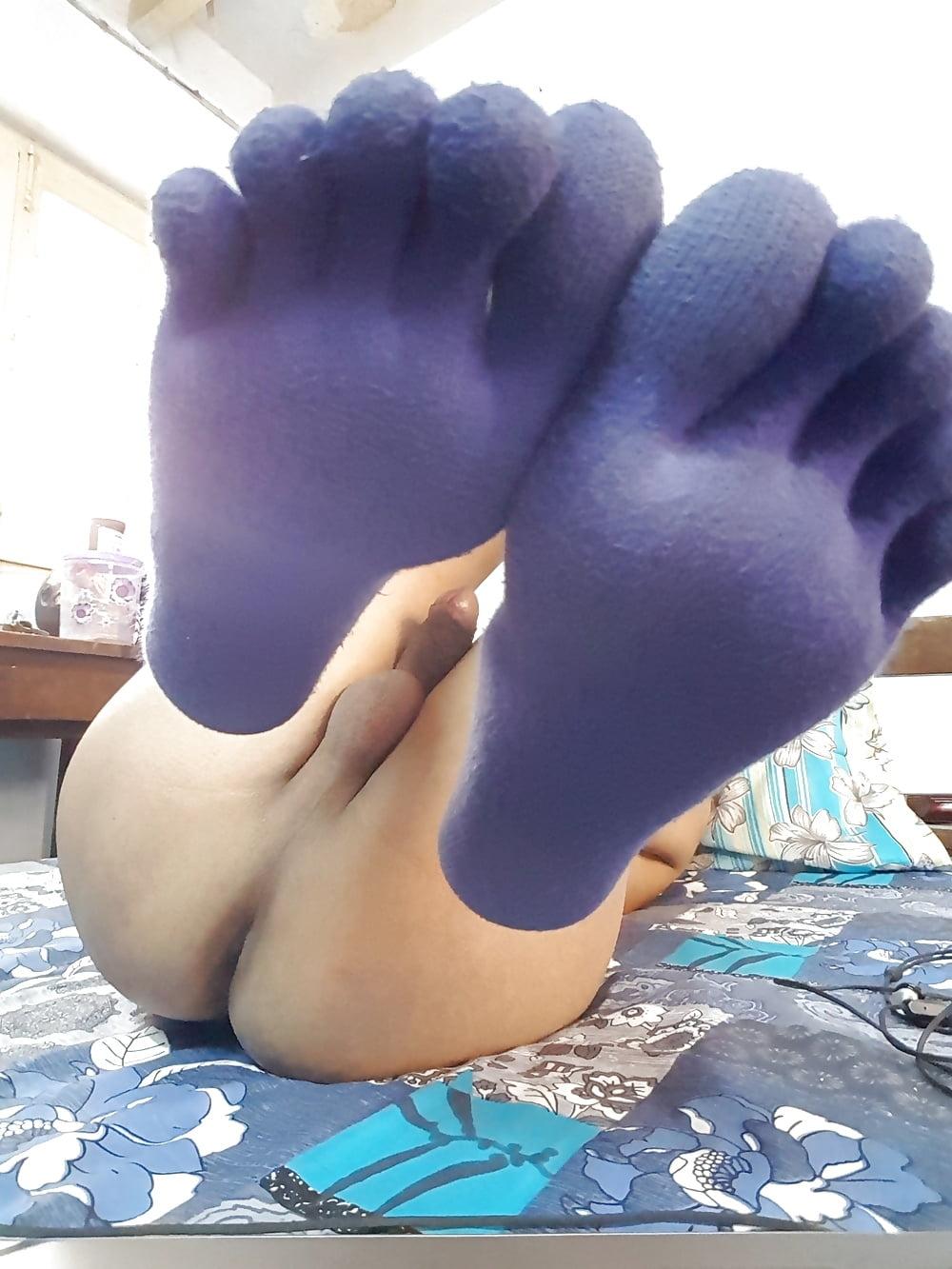 Socks porn toe Toes Tube