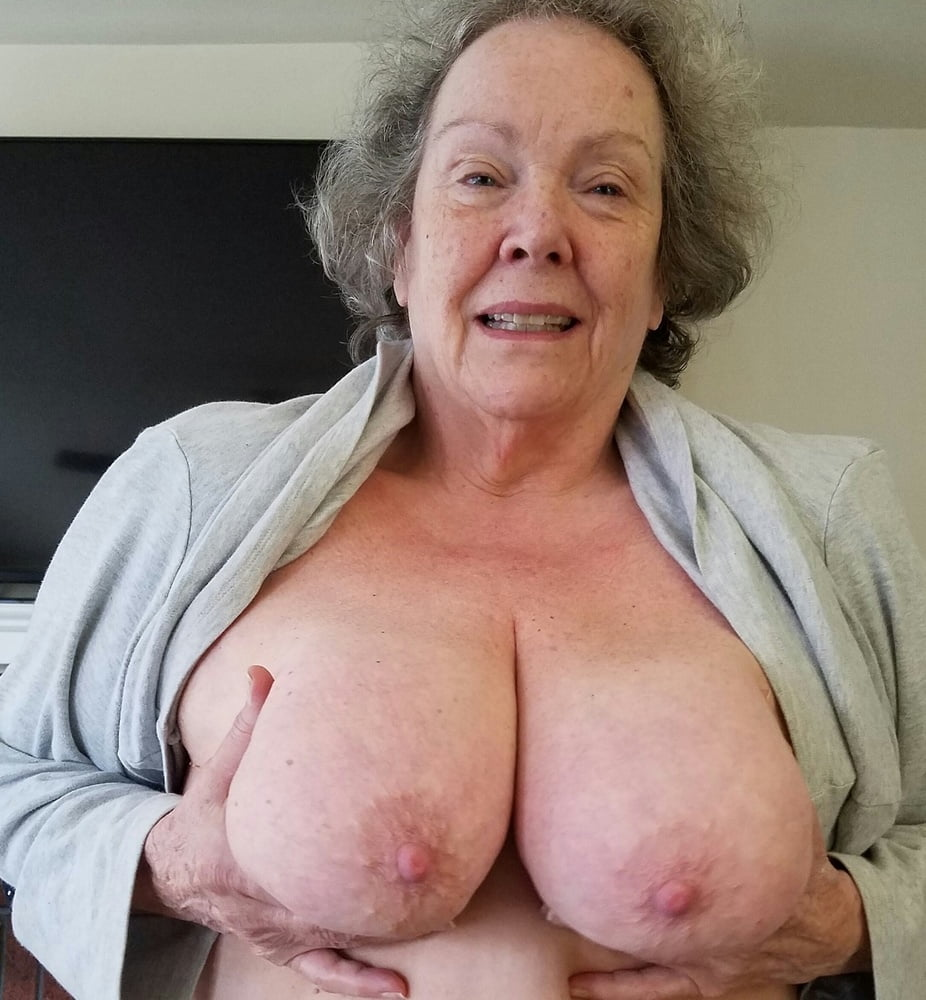 Granny with big boobs funny