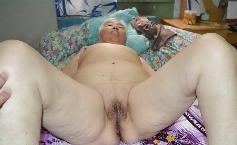 Mongolian woman granny