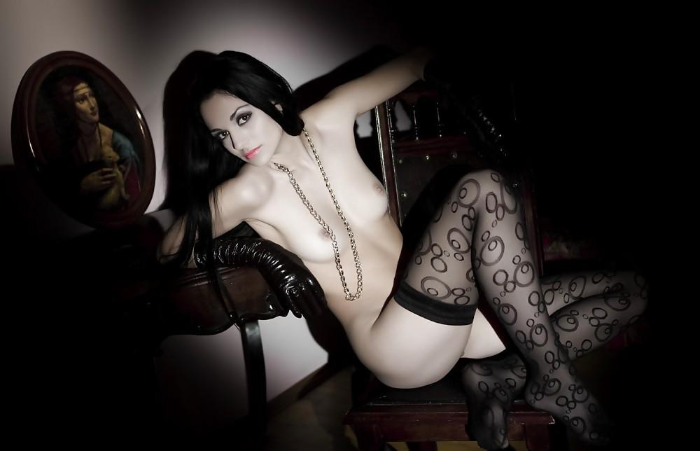 Goth Girl Naked