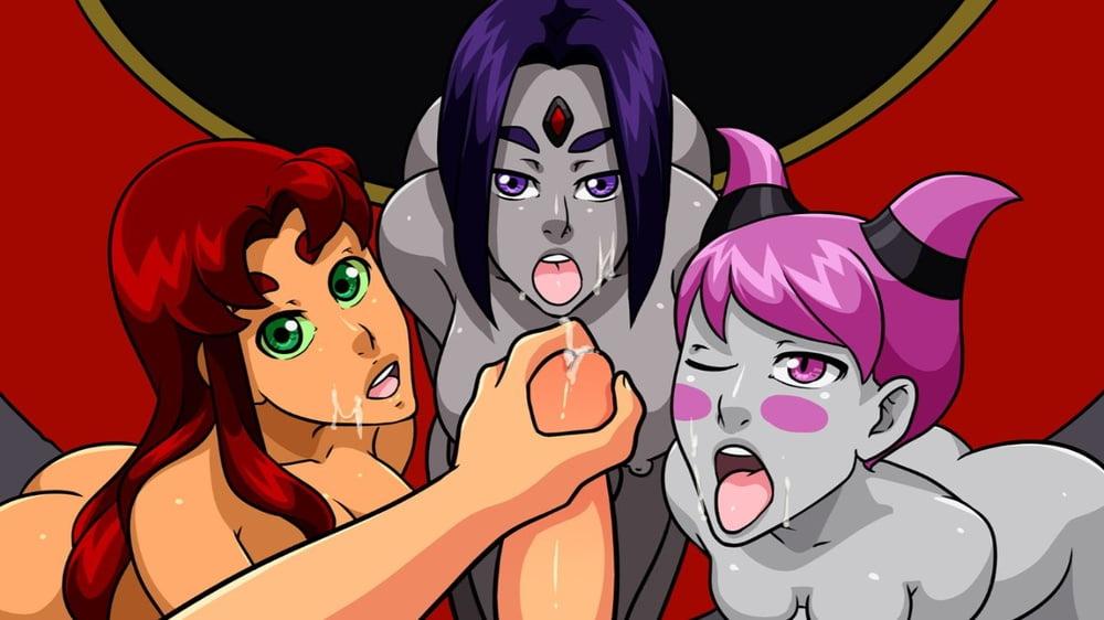 Teen Titans Starfire Sex Games