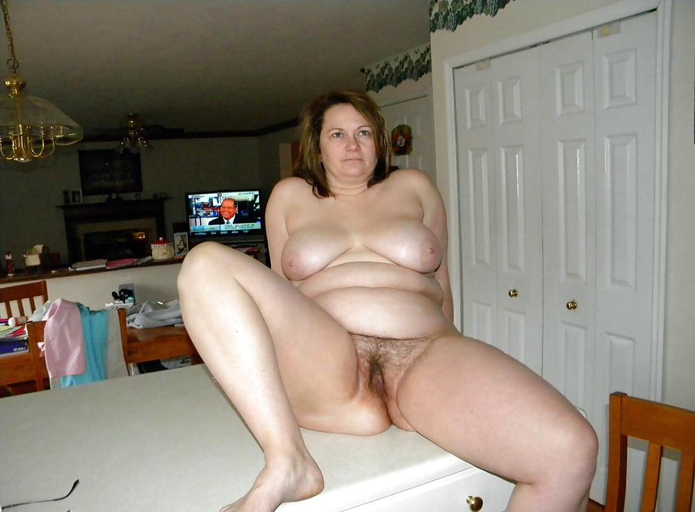 Chubby amateur mature nude women
