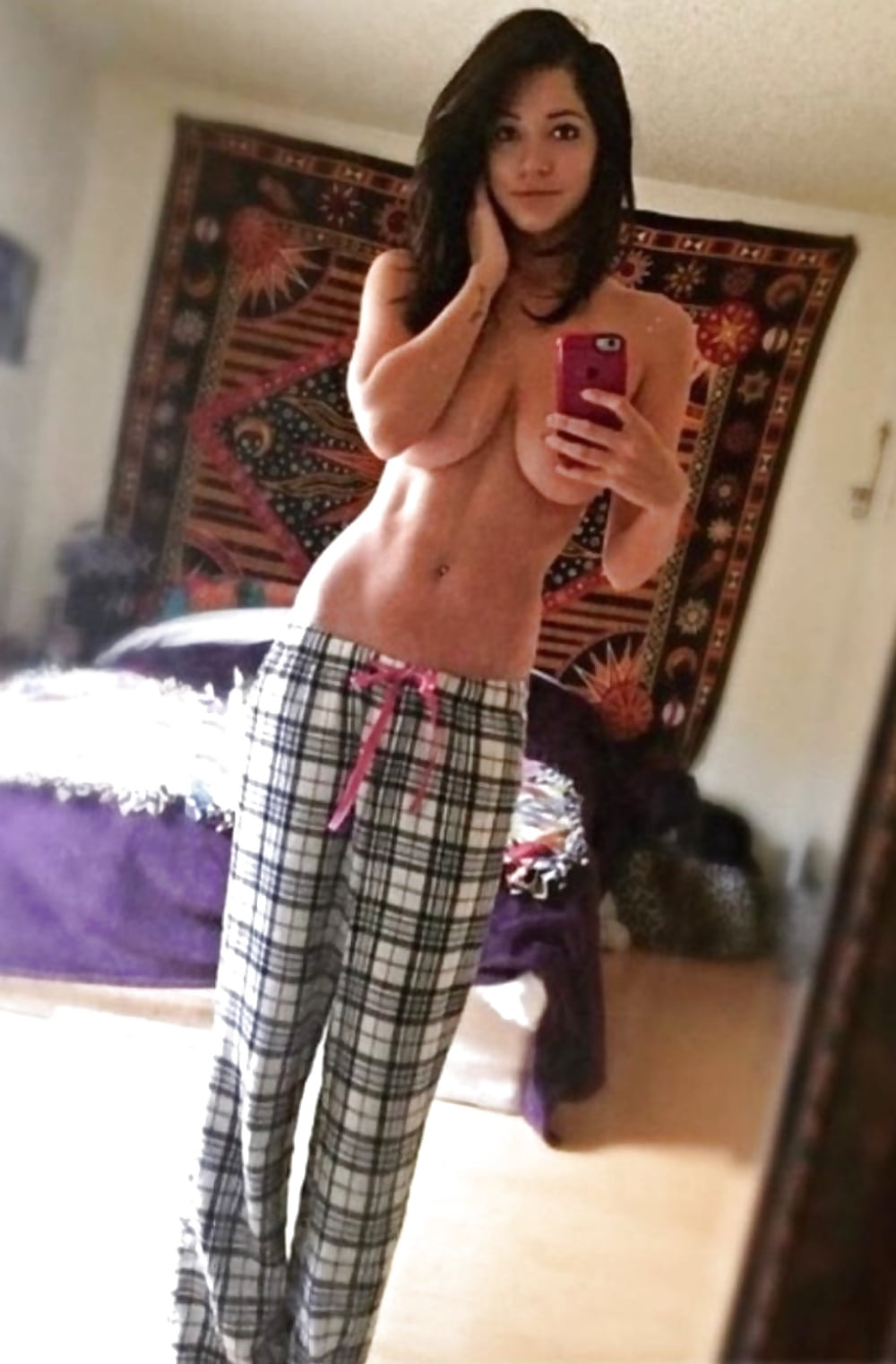 removing-her-pajamas-shows-her-tits-naked-female-teen-mexican