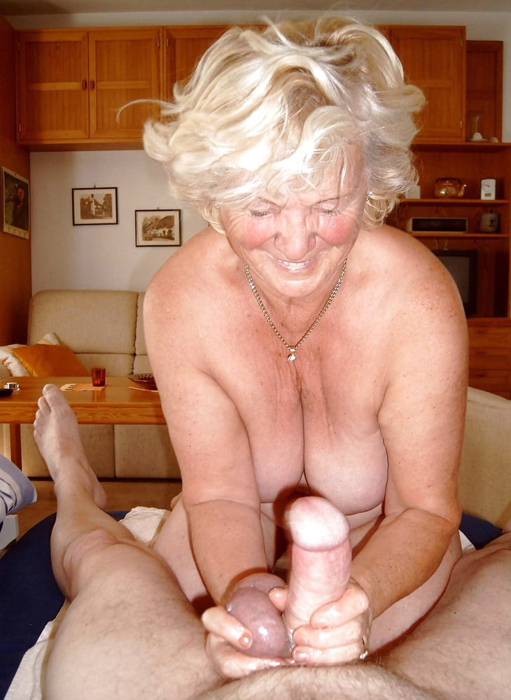 Very old granny handjob and cumshot tnaflix porn pics