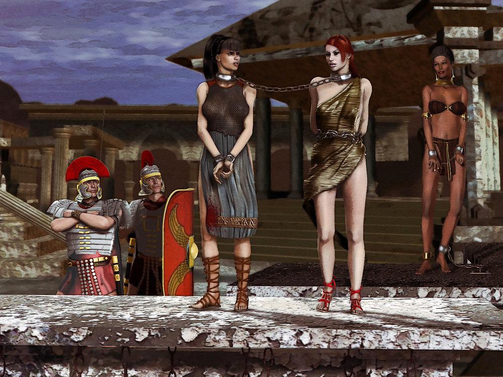 Пленницы рабыни модели #2