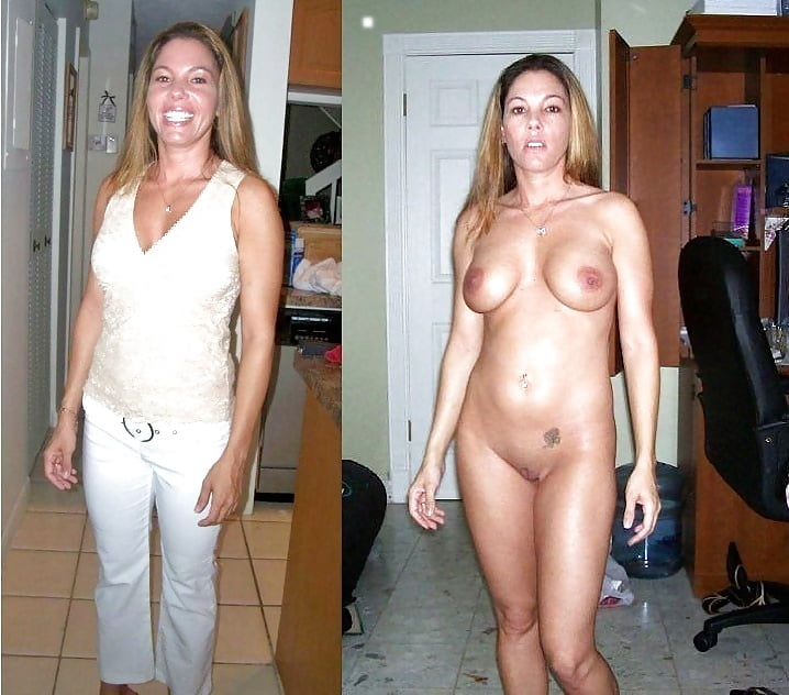 Clothed then naked photos 2