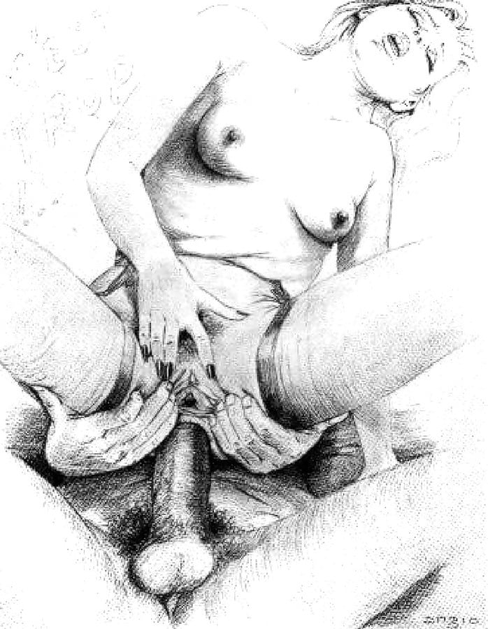Young girl drawn porn — photo 8