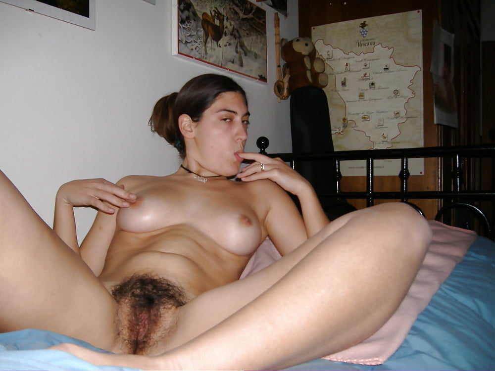 Super hairy pussy fucked